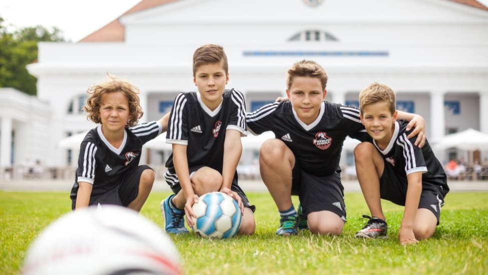 Fußballcamp im Grand Hotel Heiligendamm, © Grand Hotel Heiligendamm