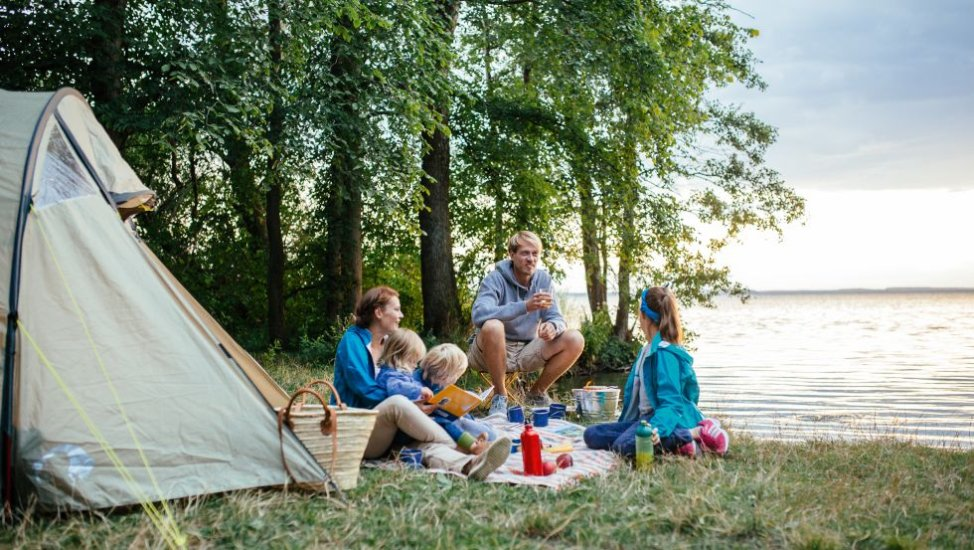 Family-Camping in Mecklenburg-Vorpommern, © TMV, Timo Roth