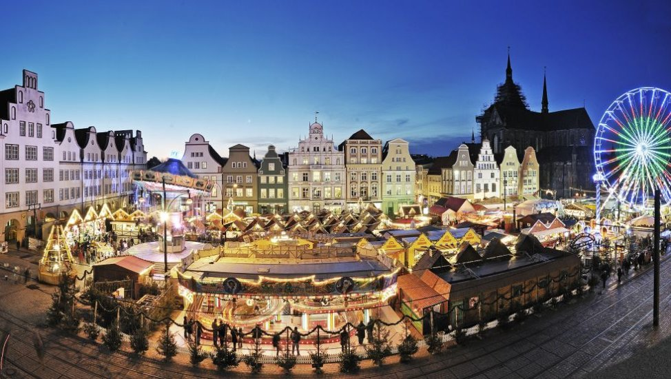 North Germany's biggest christmas market in Rostock, © Großmarkt Rostock GmbH_Th. Ulrich