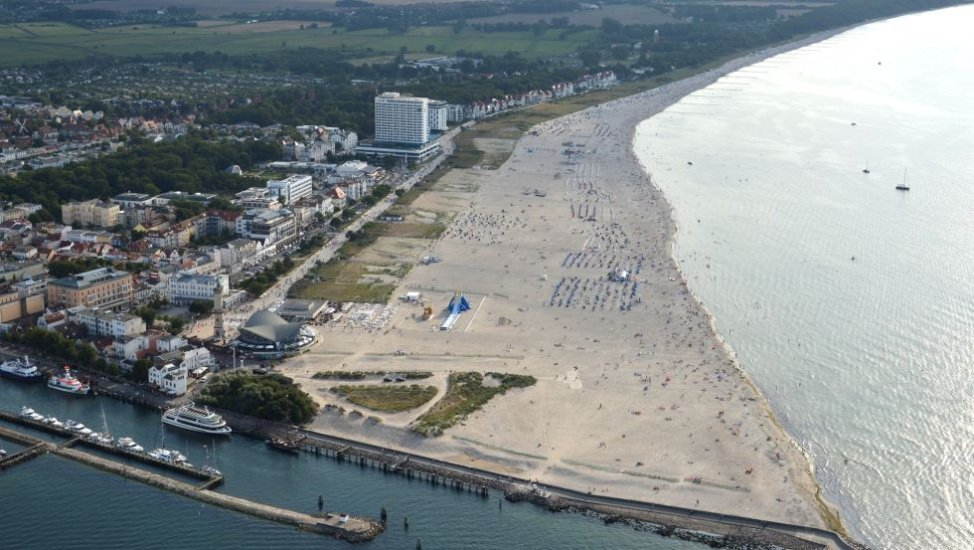 View upon the beach of Warnemünde, © TZRW_Reimer Wulf