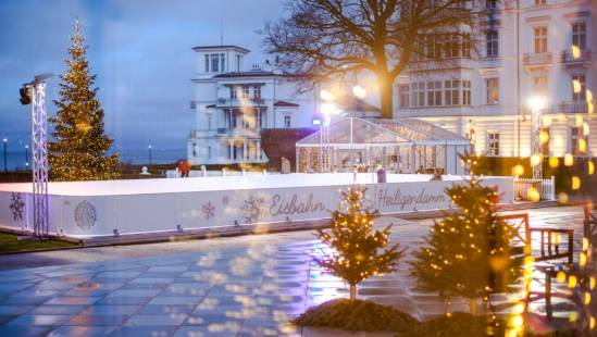 Heiligendamm on ice, © Grand Hotel Heiligendamm